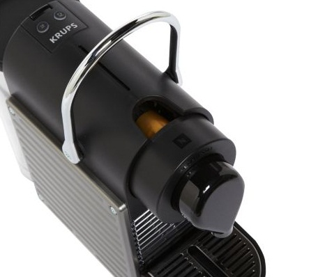 Expresso dosette yy1201fd pixie titane krups - Krups yy1201fd nespresso pixie machine a espresso titane ...