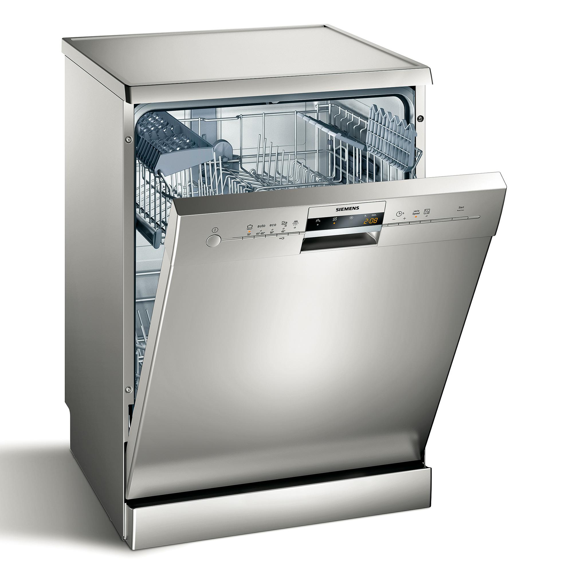 Lave vaisselle pose libre 60 cm sn25m837eu siemens for Lave vaisselle le plus economique
