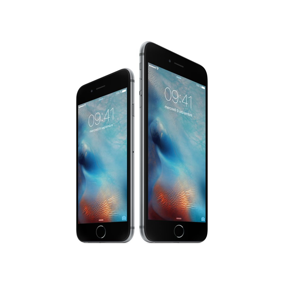 iphone iphone 6s plus silver 16go apple occasion reconditionn. Black Bedroom Furniture Sets. Home Design Ideas