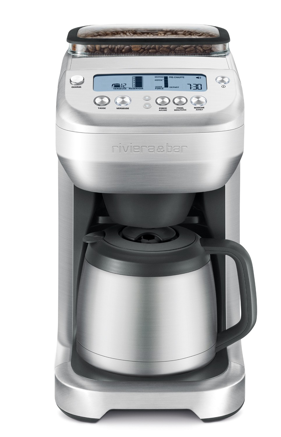Cafeti re filtre cf865a avec broyeur int gr riviera bar - Machine a cafe broyeur integre ...
