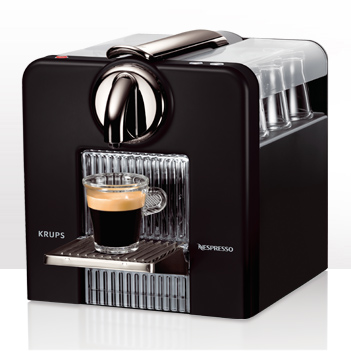 Expresso dosette cube titane yy1201fd krups - Krups yy1201fd nespresso pixie machine a espresso titane ...