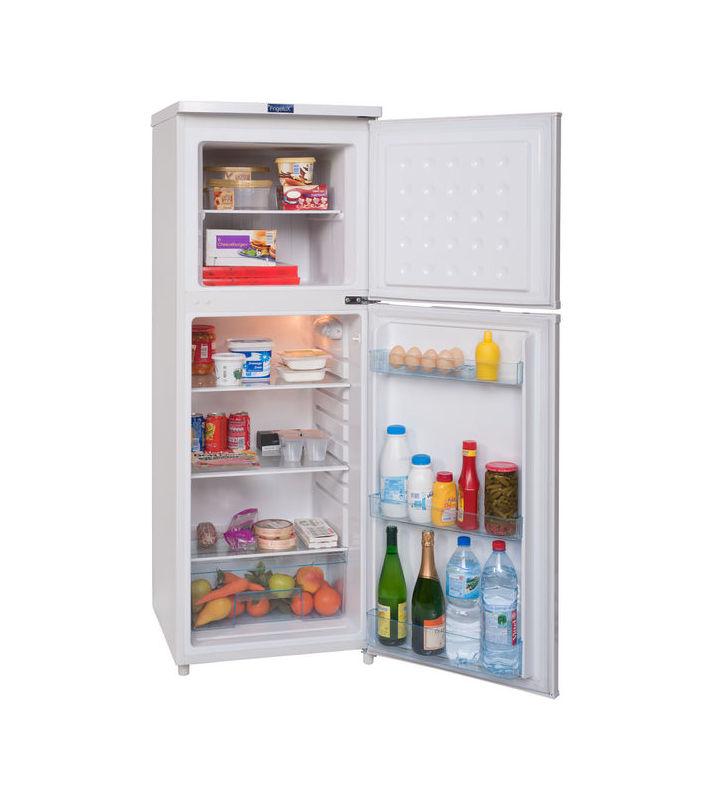R frig rateur cong lateur en haut frigelux rf235a blanc for Classe climatique d un congelateur