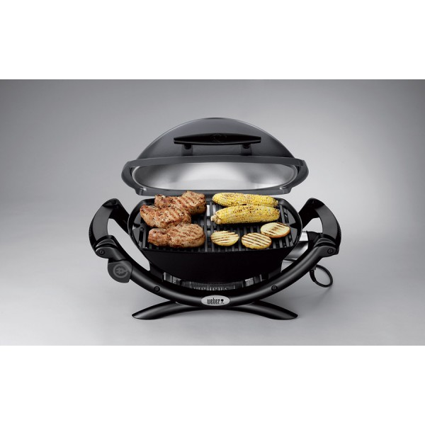 barbecue lectrique q1400 granite gray weber. Black Bedroom Furniture Sets. Home Design Ideas