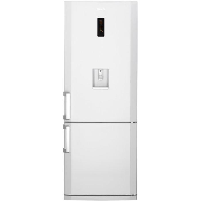 R frig rateur cong lateur en bas beko cn142220d pas cher vente cn142220d - Refrigerateur congelateur en bas froid ventile ...