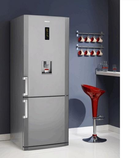 r frig rateur cong lateur en bas cn142220ds beko. Black Bedroom Furniture Sets. Home Design Ideas