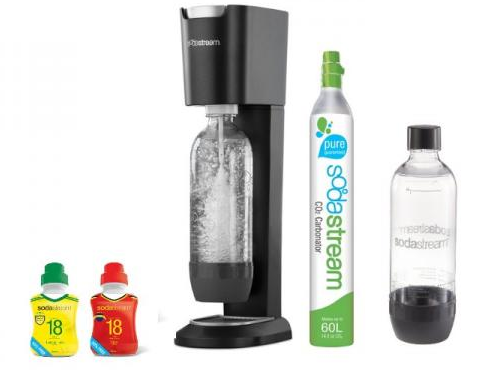 sodastream pack machine gaz ifier l eau 2 concentr s 3 pictures to pin on pinterest. Black Bedroom Furniture Sets. Home Design Ideas