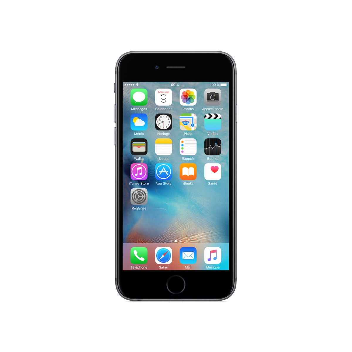 iphone iphone 6s space gray 16go apple. Black Bedroom Furniture Sets. Home Design Ideas