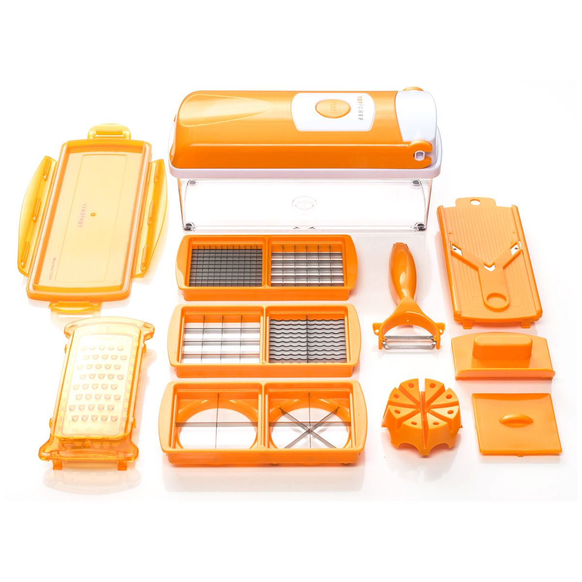 D coupe nicer dicer plus top chef genius - Coupe legume nicer dicer ...