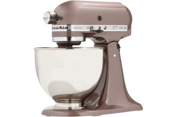 Robot sur socle 5ksm150ps eap macadamia artisan kitchenaid for Avis sur robot kitchenaid