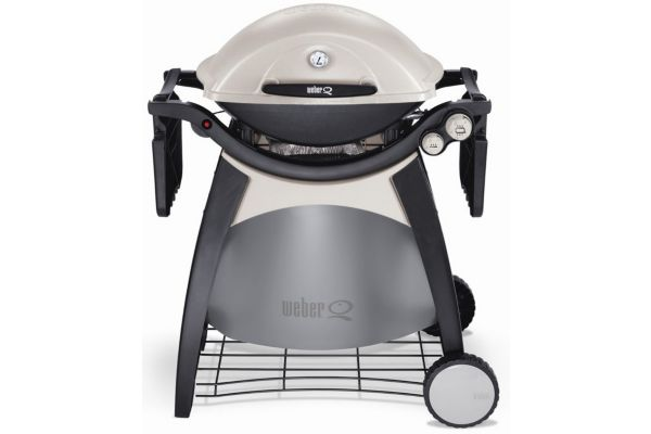 barbecue gaz q300 avec chariot int gr weber. Black Bedroom Furniture Sets. Home Design Ideas