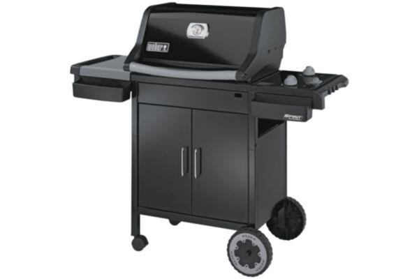 Barbecue gaz spirit classic e210 weber for Housse barbecue weber e210