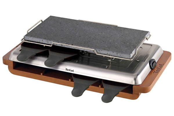 raclette pr6000 12 raclette pierrade tefal. Black Bedroom Furniture Sets. Home Design Ideas