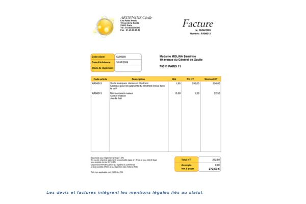 logiciel comptabilit gestion auto entrepreneur pratic 2013 ebp. Black Bedroom Furniture Sets. Home Design Ideas