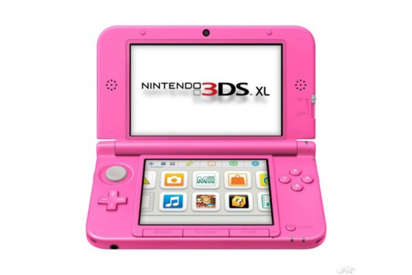 console nintendo 3ds xl rose les bons plans de micromonde. Black Bedroom Furniture Sets. Home Design Ideas