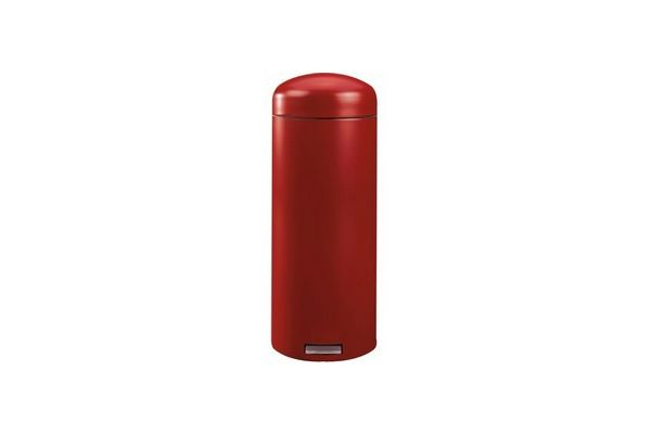 poubelle r tro bin deep red 30l p dale brabantia. Black Bedroom Furniture Sets. Home Design Ideas