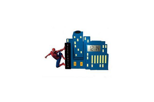 radio reveil spiderman 3 imc toys. Black Bedroom Furniture Sets. Home Design Ideas