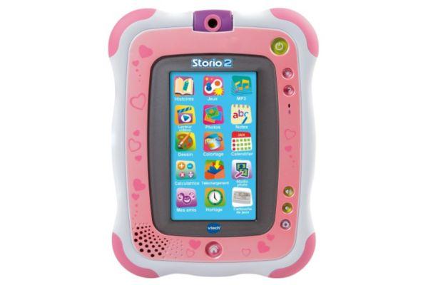jouets et gadgets enfants tablette storio 2 rose vtech. Black Bedroom Furniture Sets. Home Design Ideas
